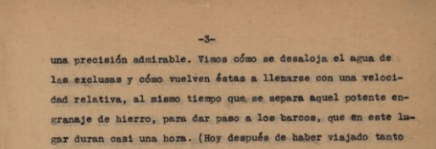 Panamá, 22 de abril 1928: Gatún
