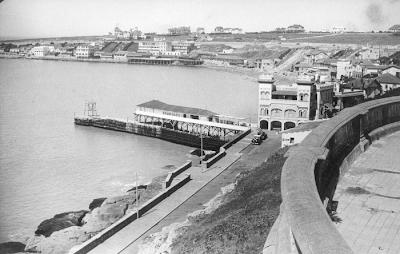 Playa de los Ingleses - 1930 Hotel Centenario . Foto de Jose Lago